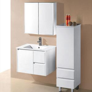 750mm Wall Mounted Finger Pull Vanity Bathroom Furniture
