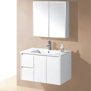 900mm Wall Hung Finger Pull Vanities Bath Cabinet