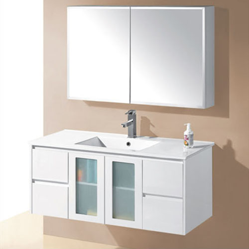 1200mm Wall Mounted Finger Pull Vanities Bath Furniture