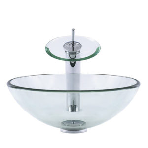 Round Glass Bowl Transparent Clear Chinese Supplier