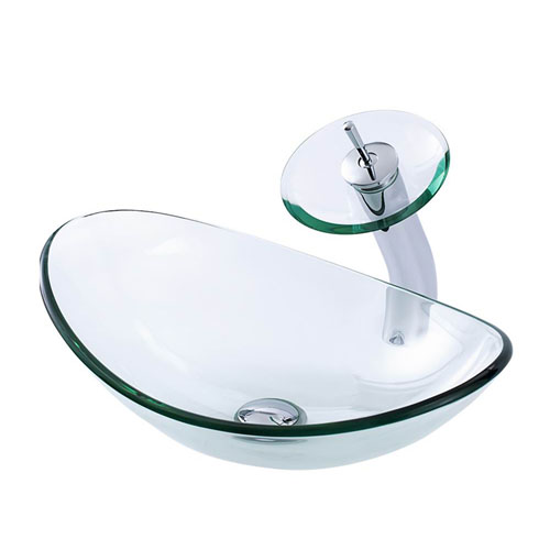 Boat Glass Basin Transparent Clear China Manufacturer