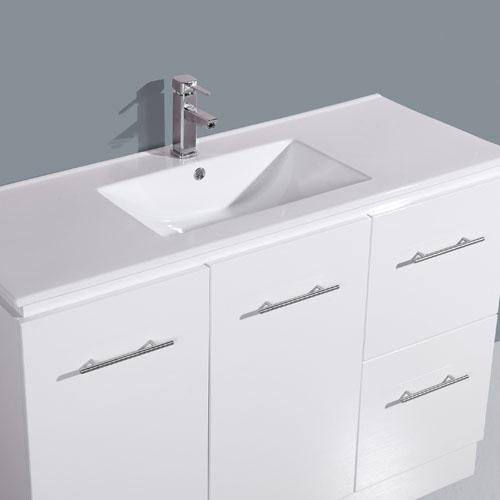 1200mm Floor Standing Kickboard Vanity Bathroom Furniture