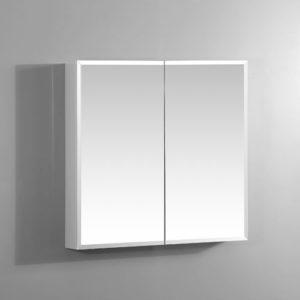 600mm Bevel Edge Mirror Cabinet Copper Free
