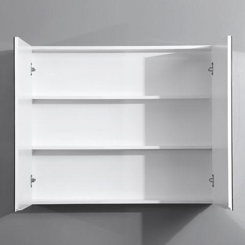 900mm Pencil Edge Shaving Cabinet 2 Doors