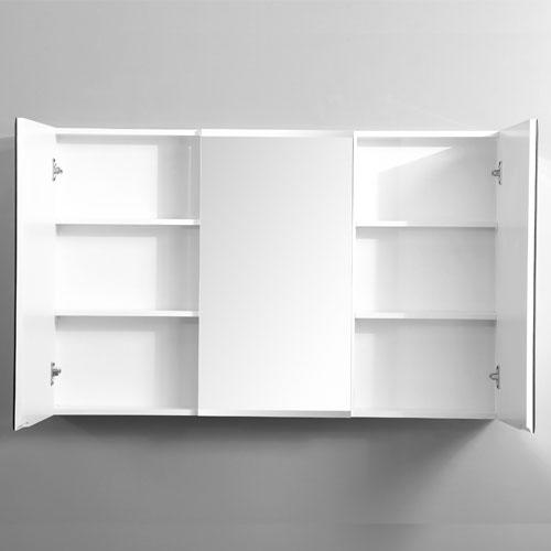 1200mm Bevel Edge Shaving Cabinet Three Doors