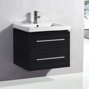 Melamine Faced Floating Vanity Unit 750mm Wall Hung