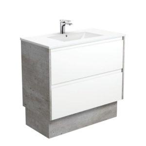 Two Finger Pull Drawer Bathroom Vanity Unit