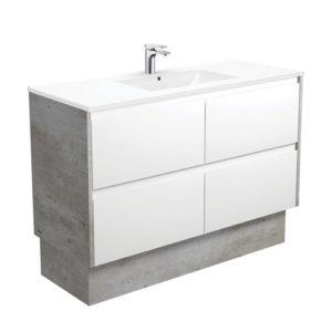 Four Finger Pull Drawer Bathroom Vanity Set