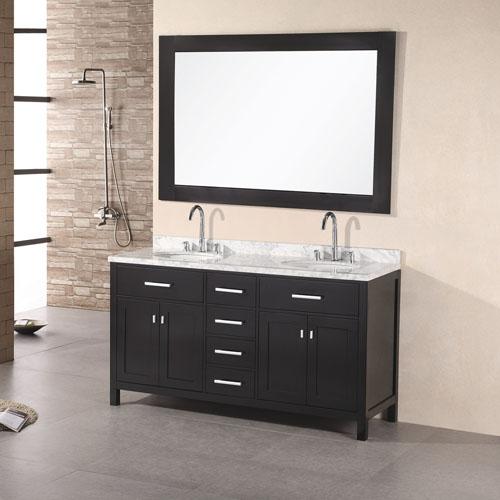 Traditional 1500mm Vanity Double Undermount Sink