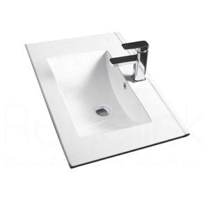 600mm Slimline Ceramic Basin