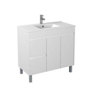 Handle Free 900mm Affordable Bathroom Cabinet