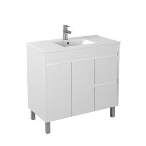 Handle Free 900mm Affordable Bathroom Furniture