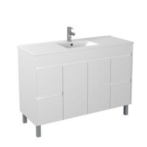 Handle Free 1200mm Affordable Bathroom Vanity