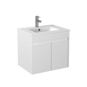 Handle Free White Vanity Good Supplier