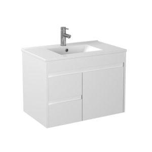 Handle Free White Vanity 750mm Best Supplier