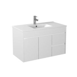 Handle Free Right Handed Drawer Vanity