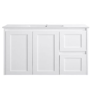 Shaker Style Vanity 900mm Wall Hung