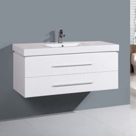 1200mm Two Big Soft Close Drawer Vanity Thick Sink